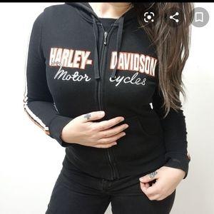 Harley Davidson Zip Up Hoodoe